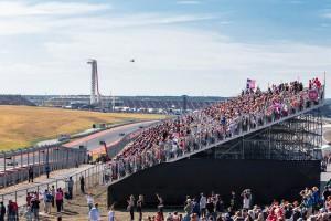 United States Formula 1 circuit in Austin, Texas