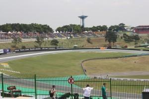 Interlagos Formula 1 circuit in Brazil