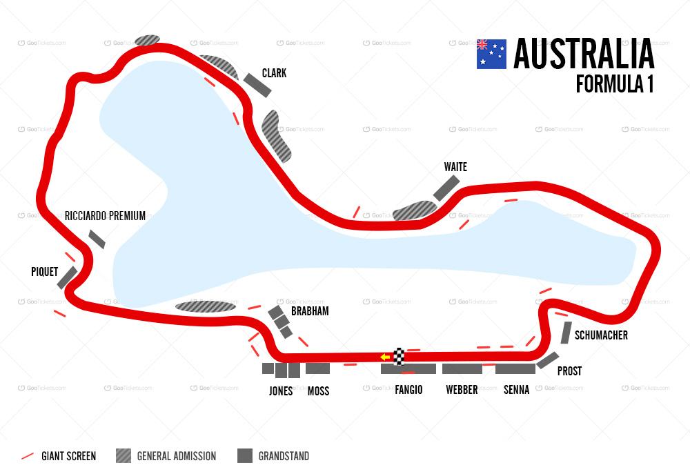 Tickets 2020 Australian Grand Prix F1destinations Com