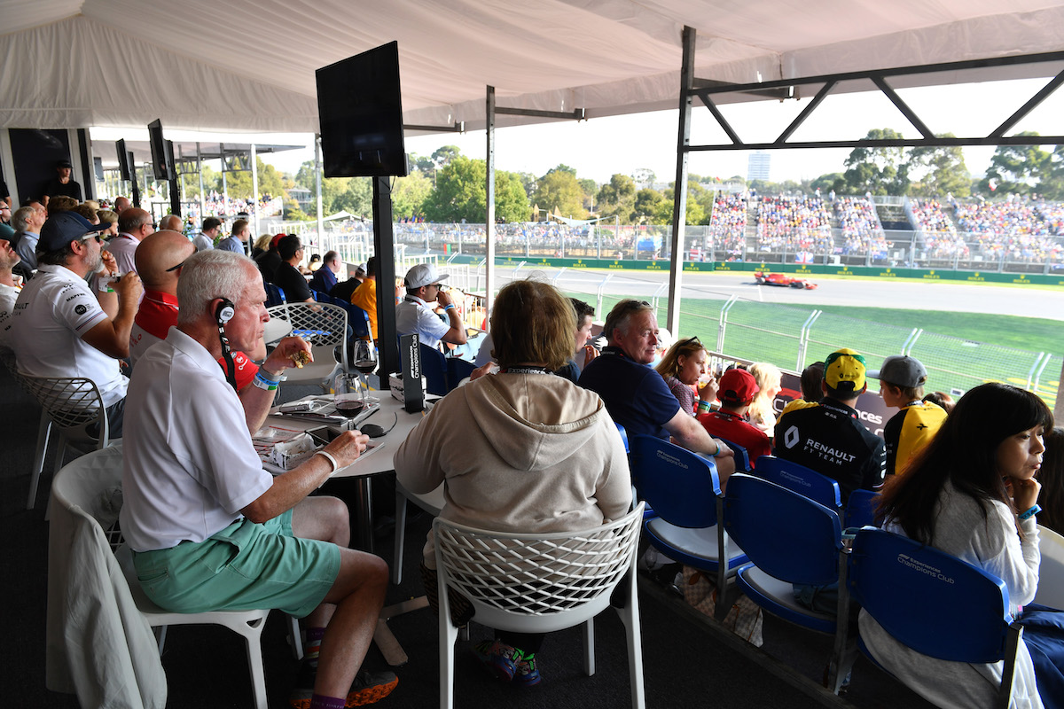 The Best Hospitality Suites at the 2020 Australian Grand Prix