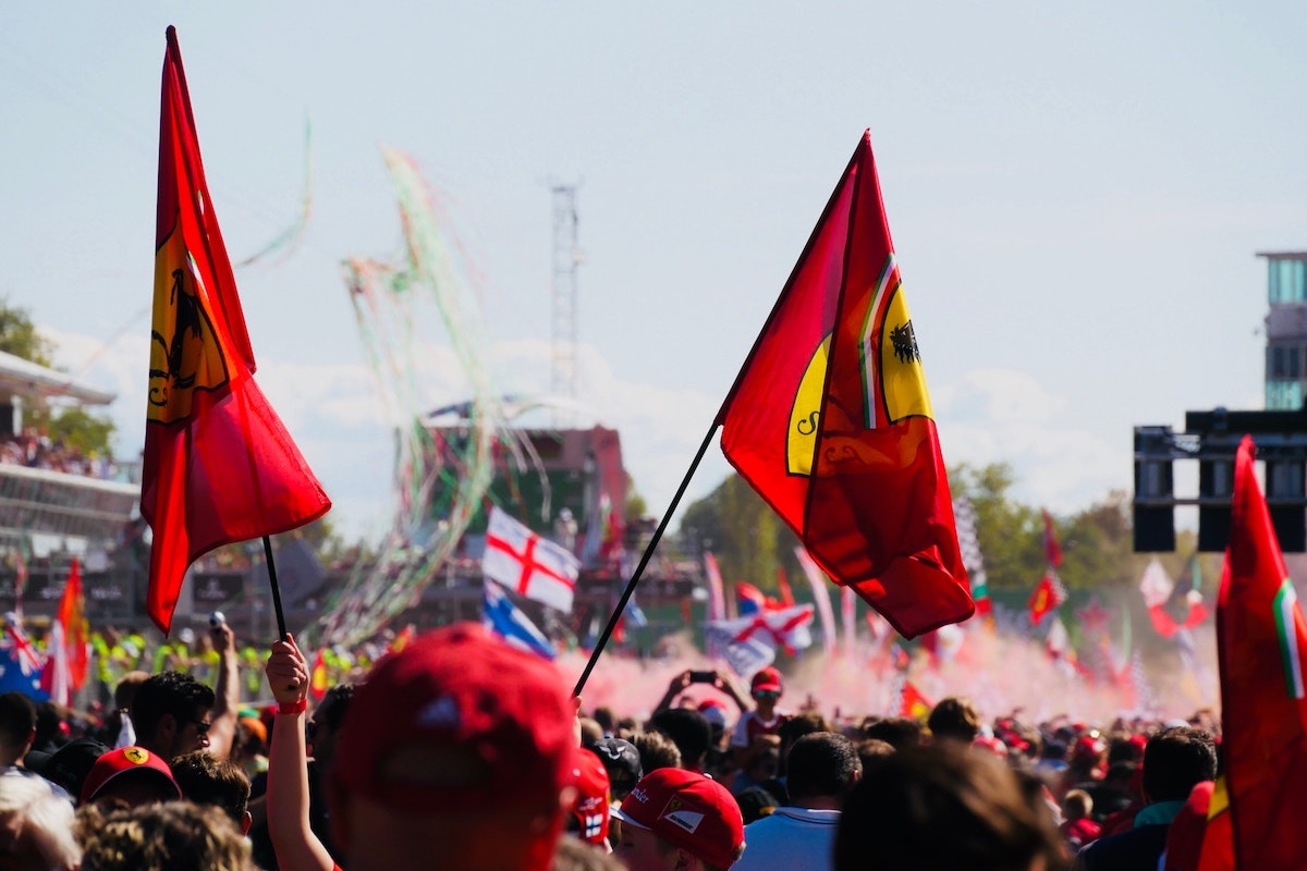 Trackside at Monza – 2020 Italian Grand Prix
