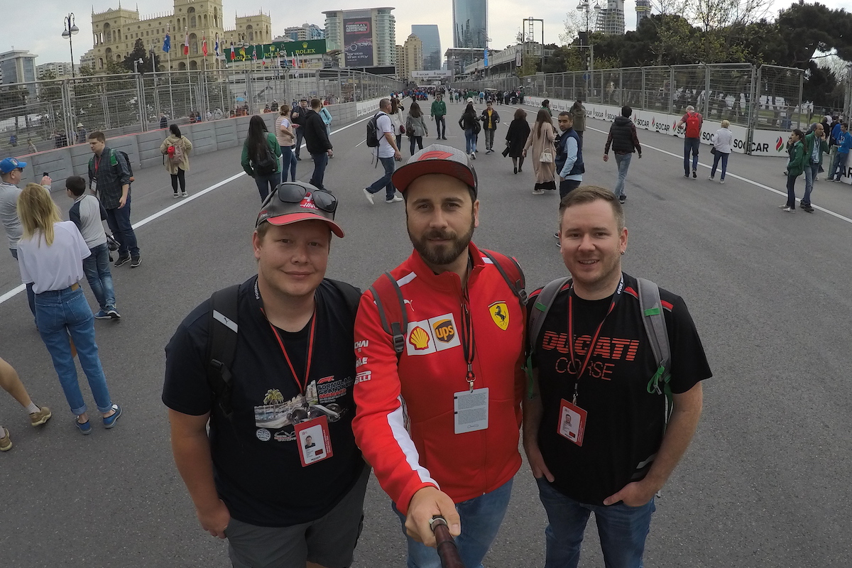 2019 Azerbaijan Grand Prix Trip Report