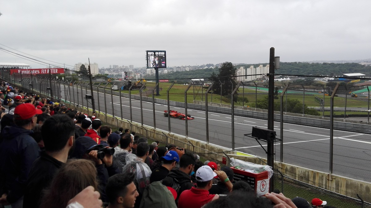 I was there for the 2019 Brazilian Grand Prix